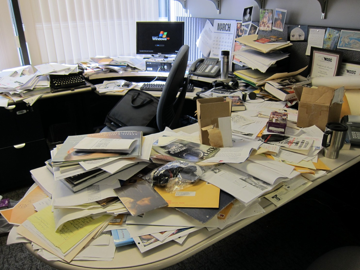 Selon la science un bureau en désordre est un signe de génie